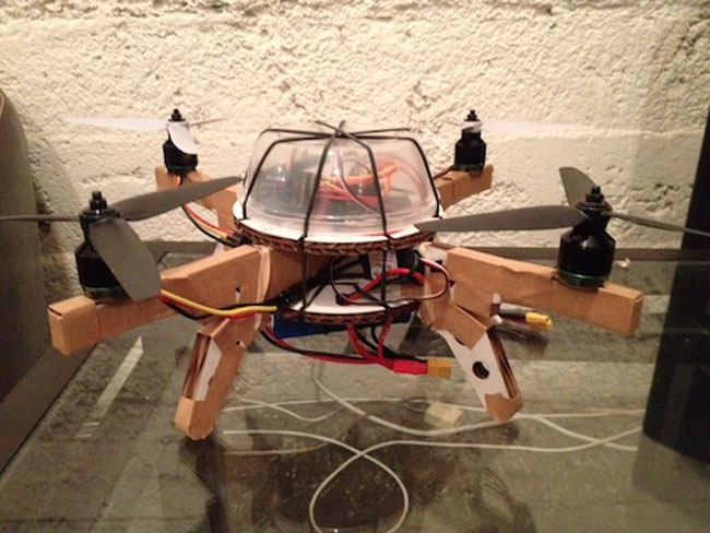 Cardboard Quadcopter