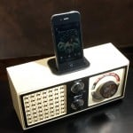 Recycled iPhone and iPod Docks