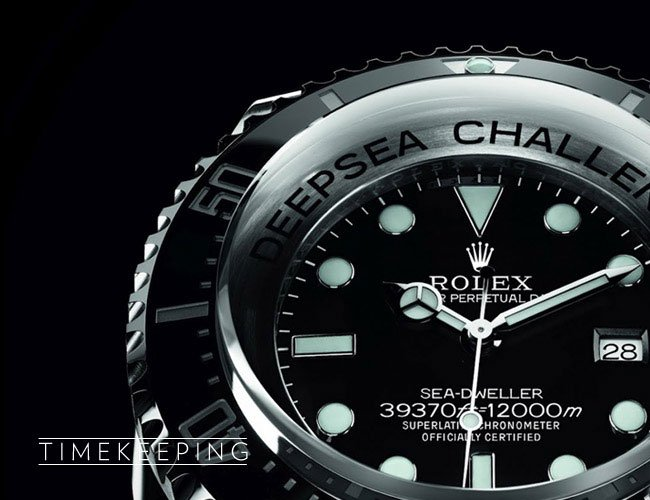 Rolex Deepsea Challenge Watch Can Dive To 12 000 Meters