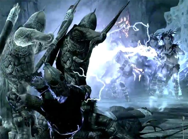 Skyrim Epic Battle