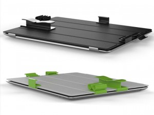 SnapFuse iPad Smart Cover Clips (video)