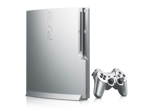 Sony Silver PS3