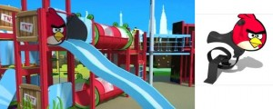 Angry Birds Park Concept Surfaces