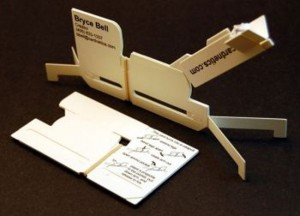 Business Cards That Double As Siege Weapons