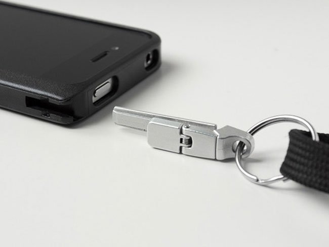 iPhone Latch & Lanyard