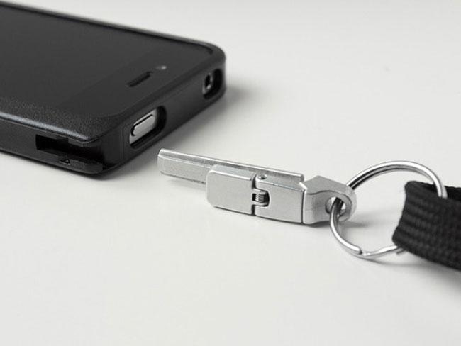 iPhone Latch & Lanyard