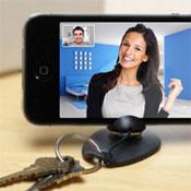 iPhone Tiltpod Keyring Stand (video)