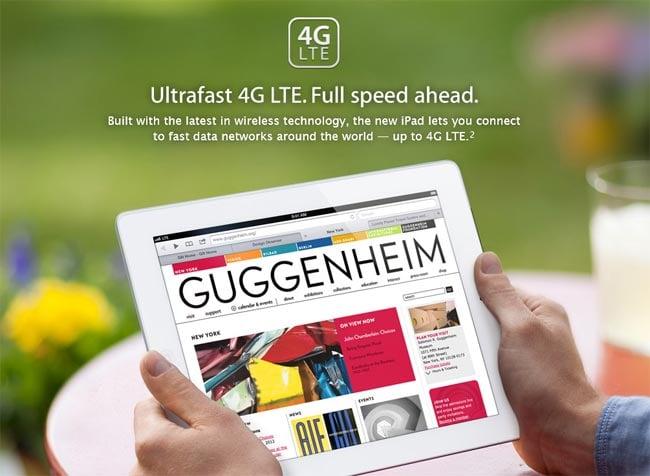 iPad 3 4G LTE