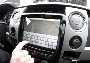 New iPad 3 Installed In A Ford F150 (Video)