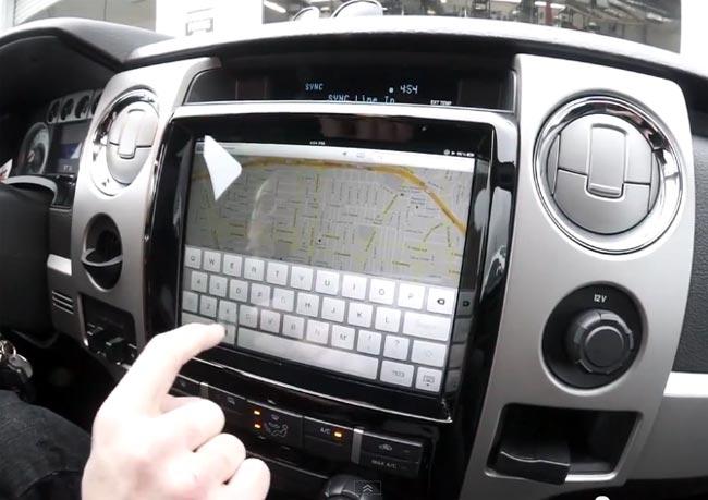 iPad Car