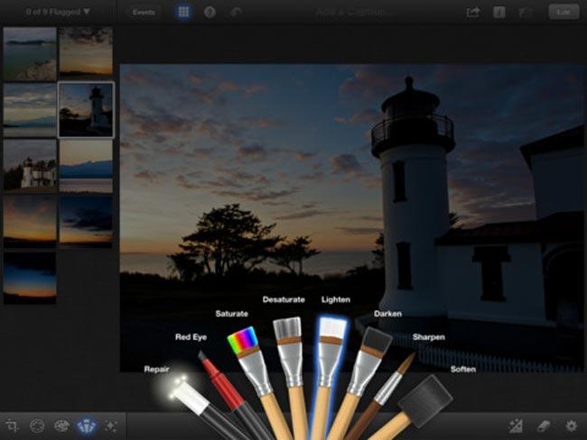 iPhoto iPad
