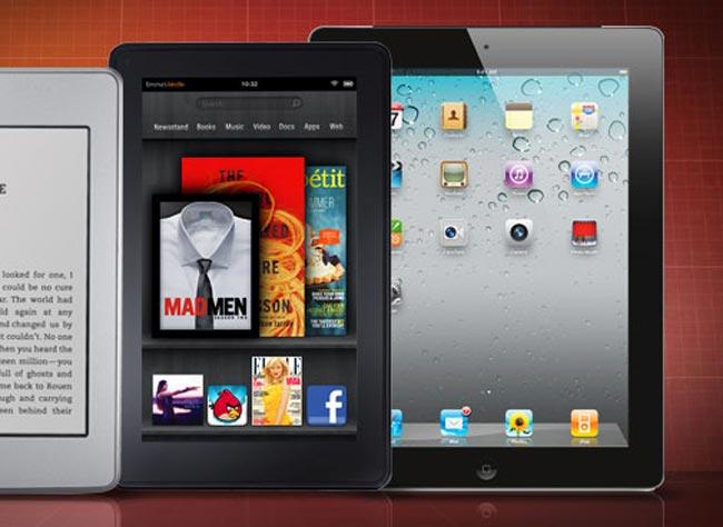 Kindle Fire iPad