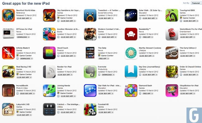 New iPad Apps