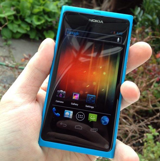 Nokia N9 ICS