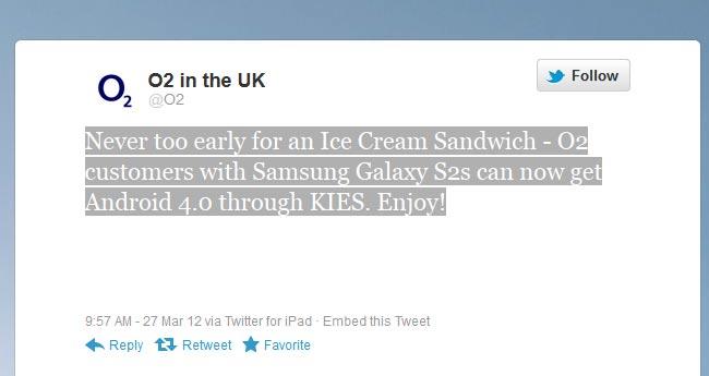 O2 Samsung