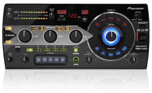 Pioneer launches rmx1000 remix station geeky gadgets