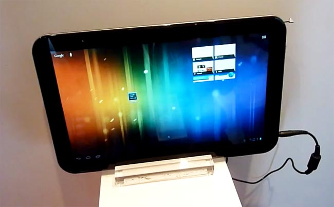 Toshiba Unveils 13.3 Inch AT330 Android ICS Tablet (Video)