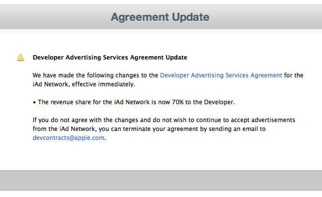 Apple Developers iAd