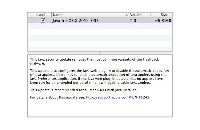 Apple Flashback Fix