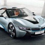 BMW i8 Spyder Concept Car (video)