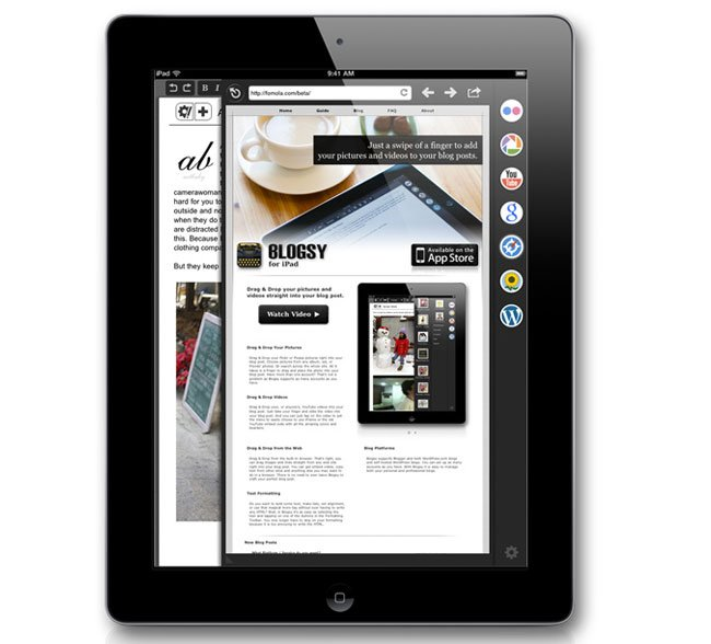 Blogsy iPad App Receives Major Update Adds Vimeo And Tumblr Support