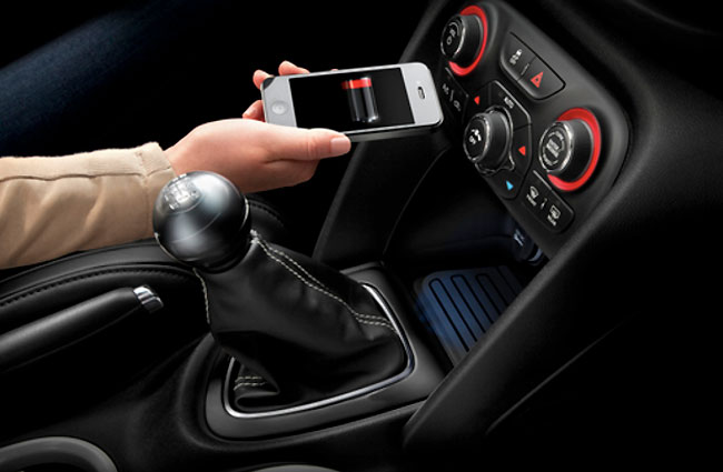 Chrysler Wireless In-Vehicle charging