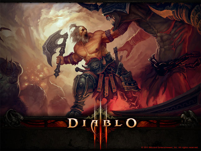 Diablo III Story Of The Barbarian