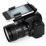 Flash Dock Smartphone DSLR Camera Mount
