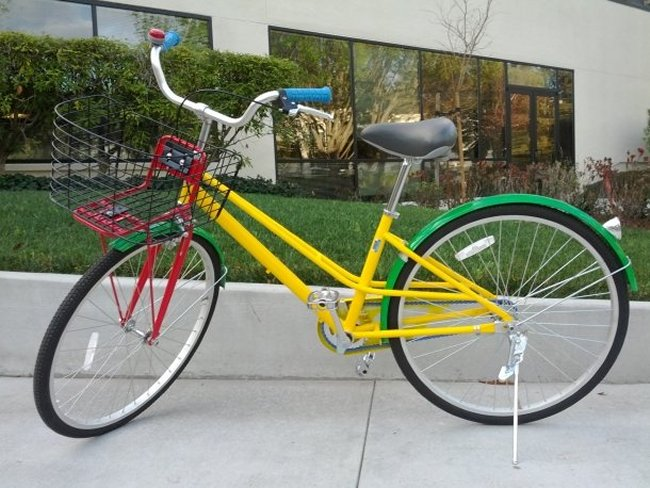 Google Outs New Campus Bike Design - Geeky Gadgets