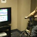 Mario Kart Exercise Bike Fitness Mod (video)