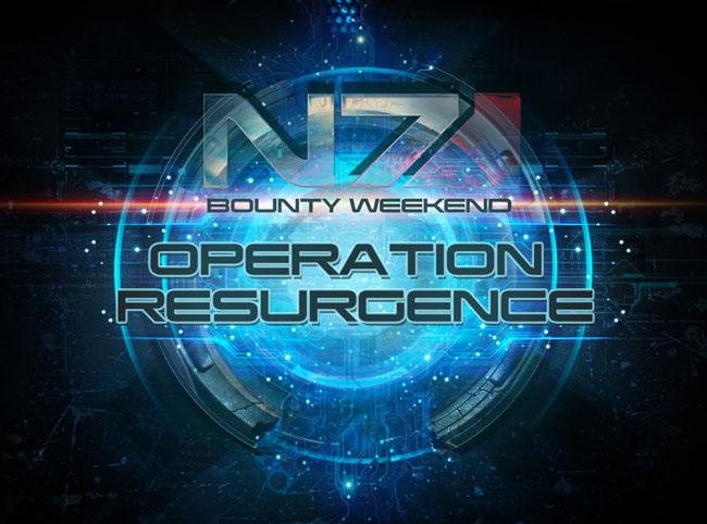 Mass Effect 3 Operation Resurgence Weekend
