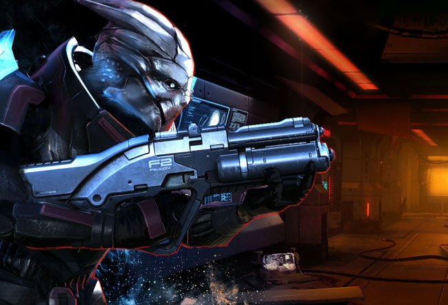 Mass Effect Infiltrator iOS