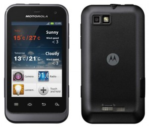 SIM Free Motorola Defy Mini XT320 Now Available In The UK
