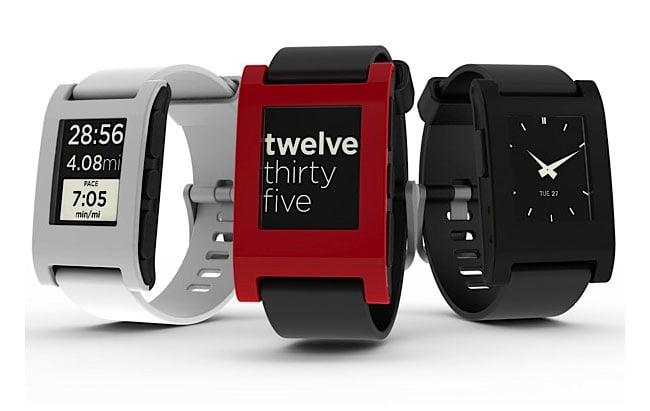 Pebble Smartphone Watch