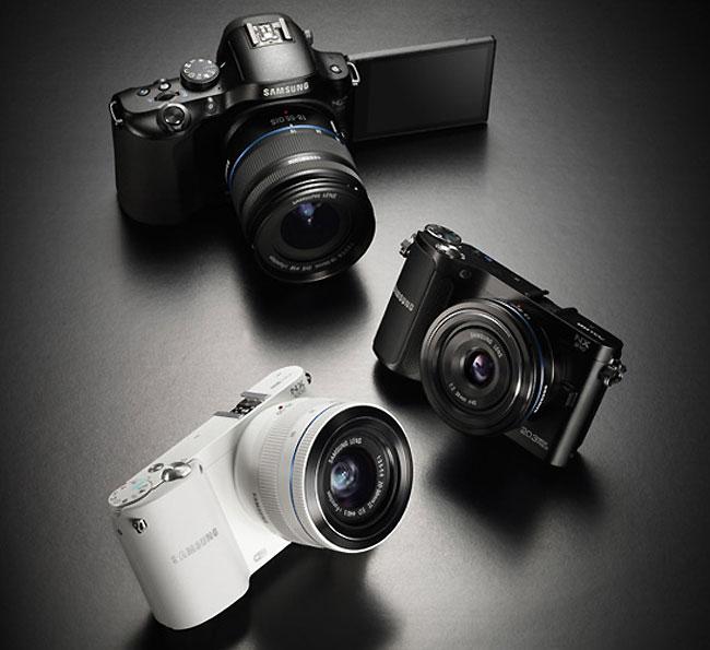 Samsung 2012 mirrorless cameras