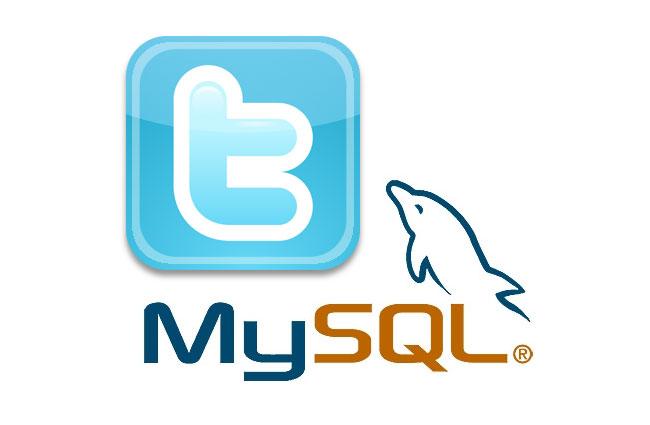 Twitter MySQL