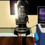 LEGO Star Wars Darth Vader Lamp