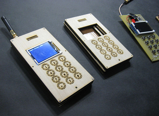 Wooden Cellphone