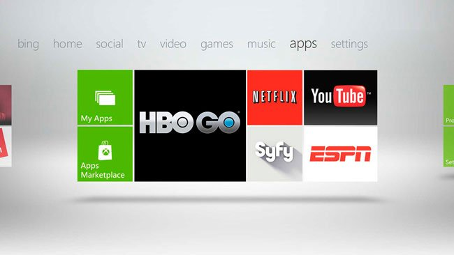Xbox Live Entertainment Apps Unlocked