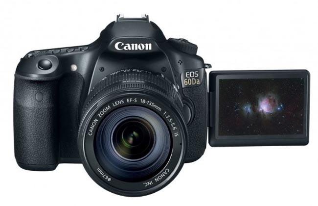 Canon EOS 60Da Announced