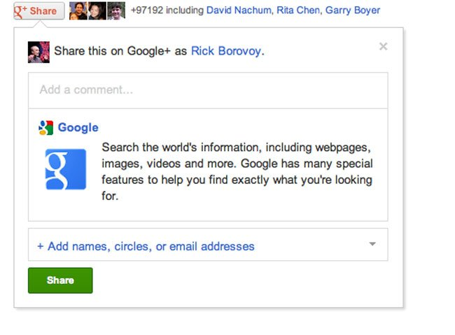 Gmail Has Updates From Friends on Google+