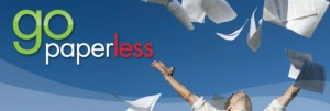 Six tips for a paperless lifestyle