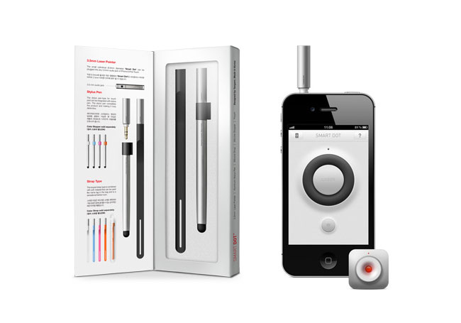 iphone laser pointer iphone smart dot laser pointer and presentation app 11980