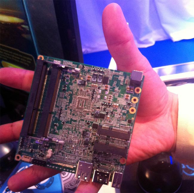 Intel Demos New NUC Motherboard That Fits In Your Hand