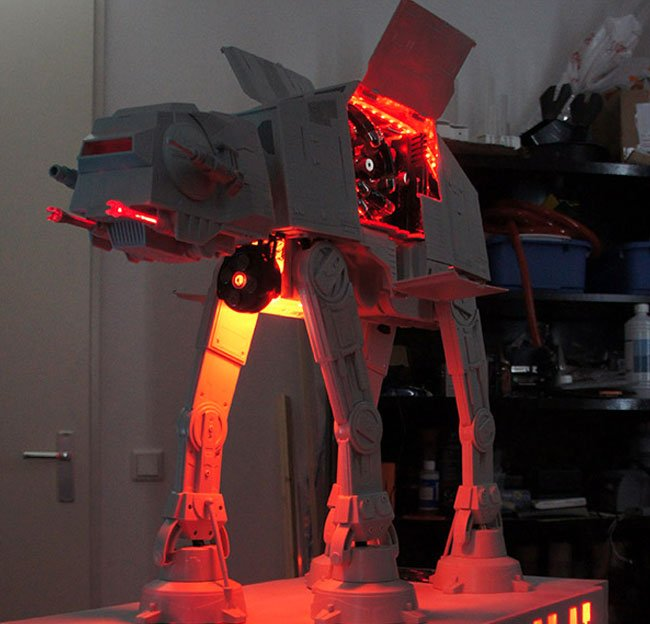 AT-AT PC Case Mod