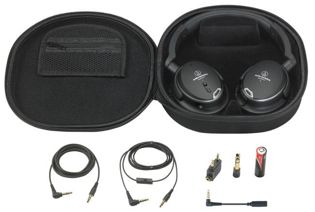 Audio-Technica ATH-ANC9 QuietPoint Noise Cancelling Headphones