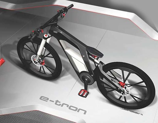 Audi E Bike Worthersee Concept Electric Designed For Sport Fun And Tricks