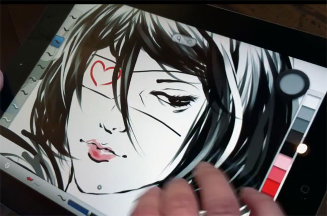Autodesk Launches SketchBook Ink iPad App, Exports 100