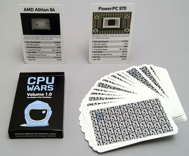 CPU Top Trumps