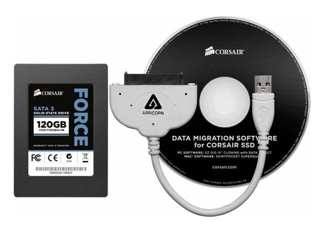 Corsair SSD Notebook Upgrade Kit